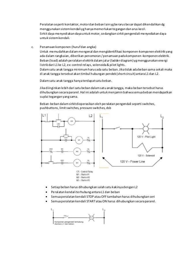 Makalah diagram listrik industri 3 peralatanseperti kontaktormotordanbebanlainygberarusbesardapatdikendalikandg menggunakansistemkendaliyghanyamemerlukantegangandanaruskecil ccuart Choice Image