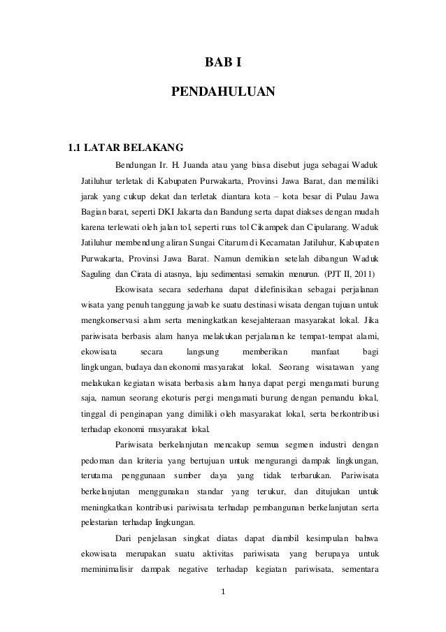 MAKALAH WADUK JATILUHUR KELOMPOK 4