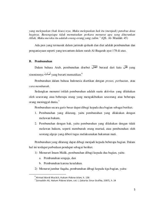 Makalah Qishash Pdf - Contoh Makalah