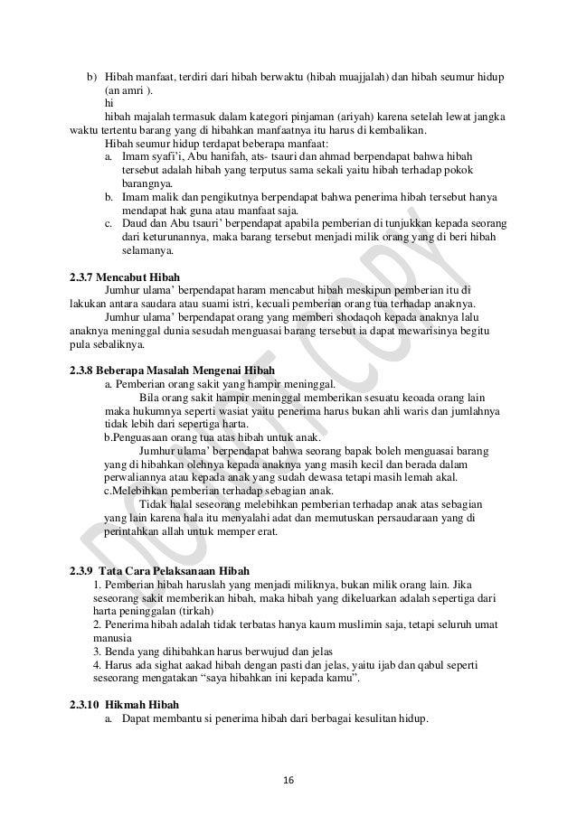 Contoh Surat Hibah Tanah Dan Rumah Kepada Anak