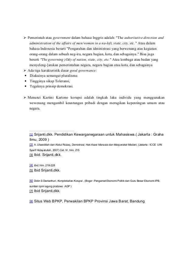 makalah good governance Makalah good governance bab i pendahuluan11 latar belakang pada d.