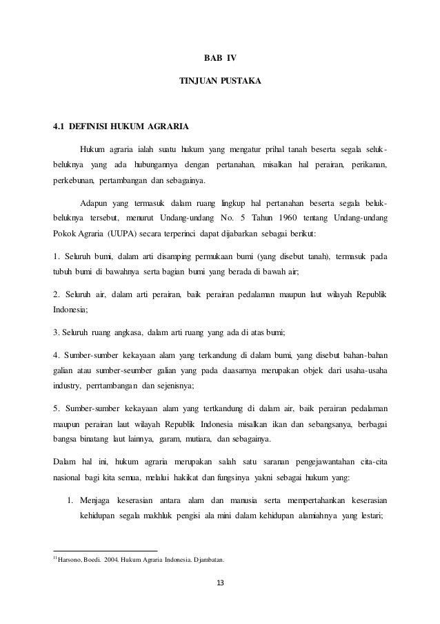 Makalah Hukum Agraria Di Indonesia