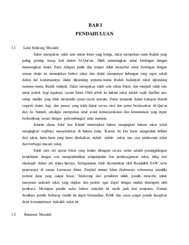 Makalah Hukum Zakat Di Indonesia