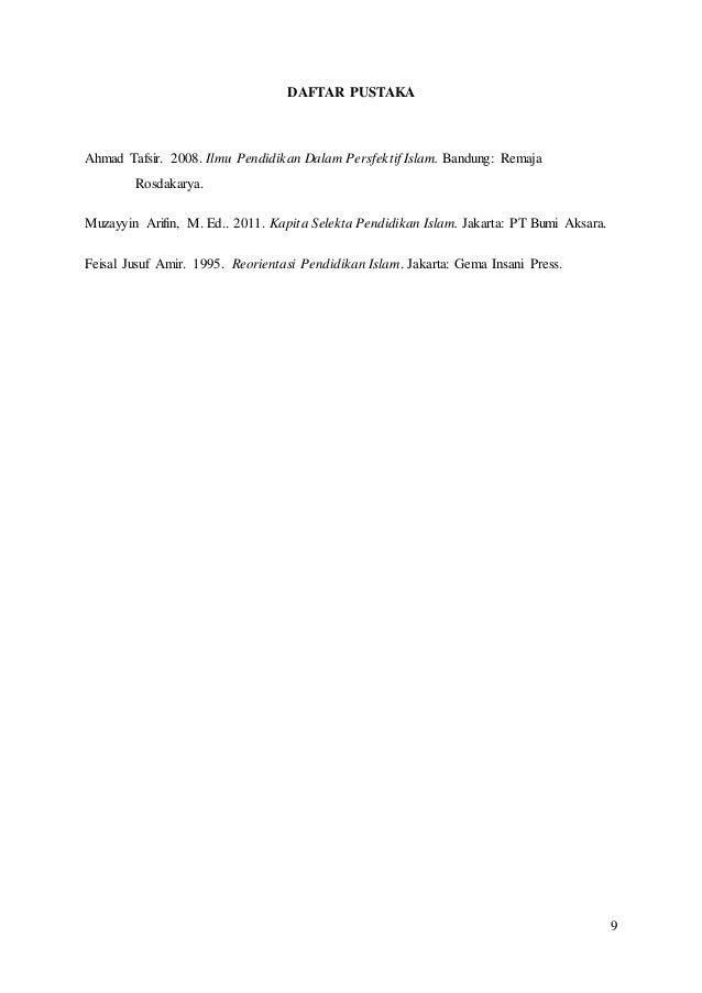 Buku Kapita Selekta Pendidikan Pdf