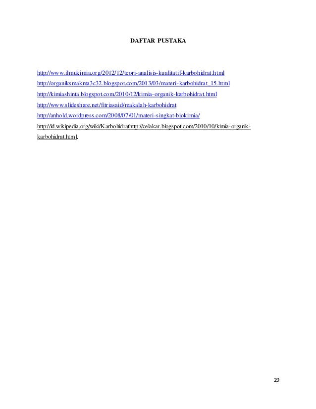 MAKALAH BIOKIMIA KARBOHIDRAT PDF