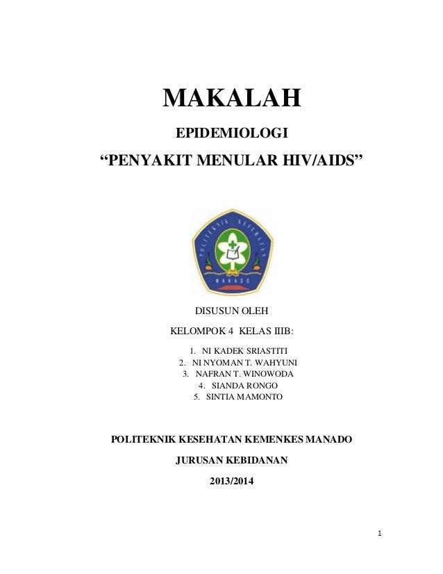 Doc Makalah Hiv Aids Ikzan Khalaf Academia Edu