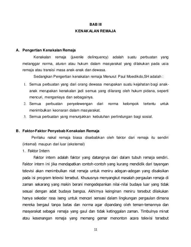 Contoh Abstrak Kenakalan Remaja Download Gambar Online