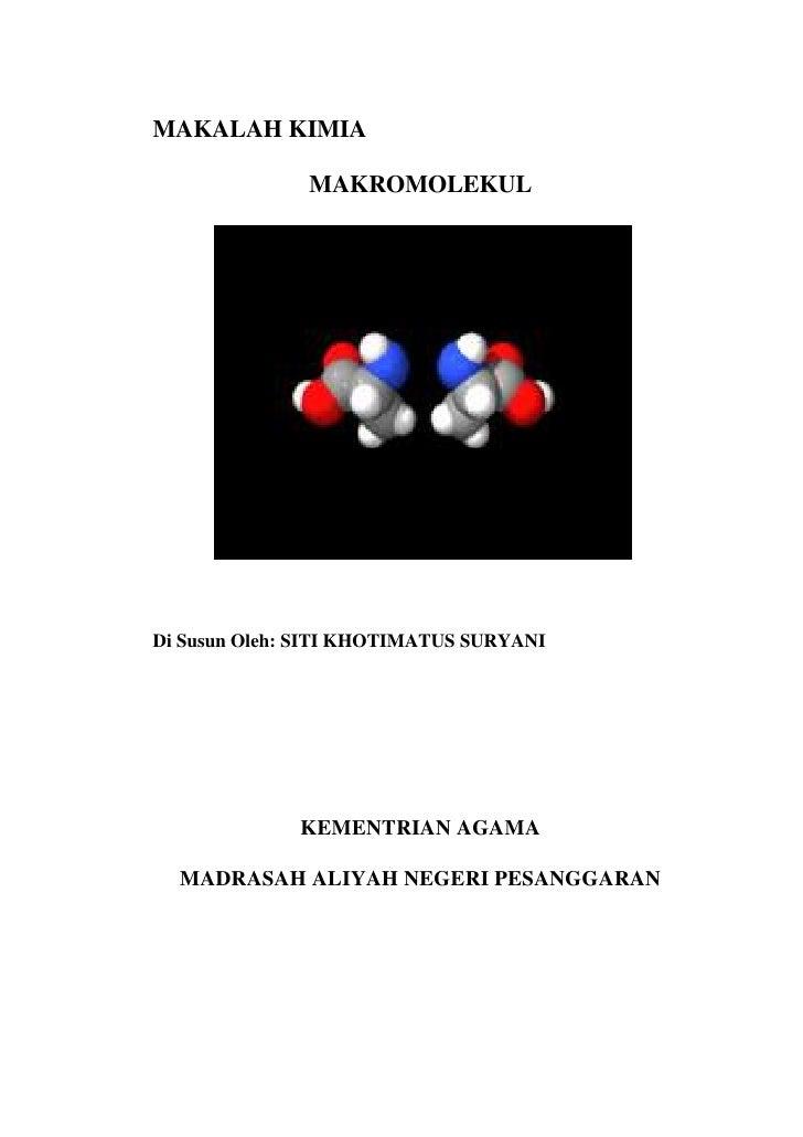Makalah Kimia