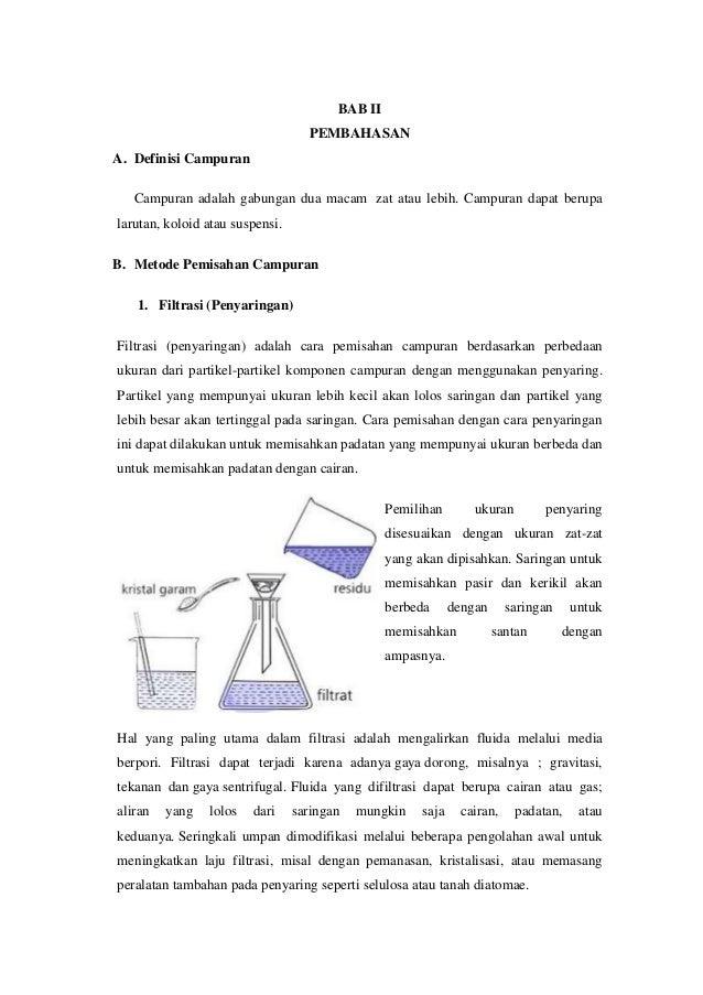 Contoh Campuran Dalam Kimia Surat R