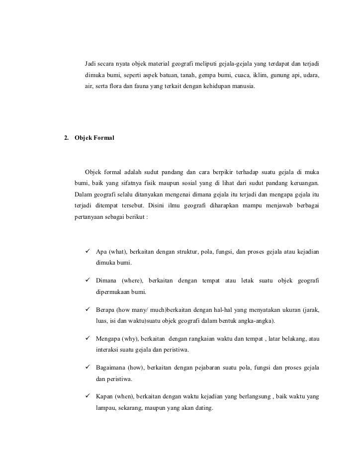 Contoh Makalah Geografi Tentang Hidrosfer Kumpulan Contoh Makalah Doc Lengkap