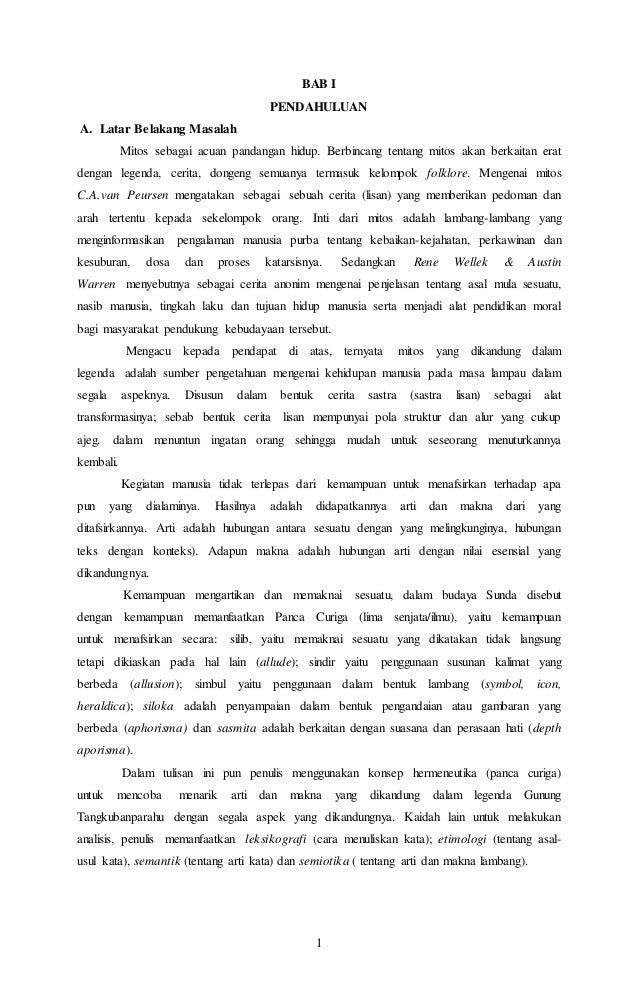 Contoh Cerita Fabel Pendek Bahasa Sunda - Simak Gambar Berikut