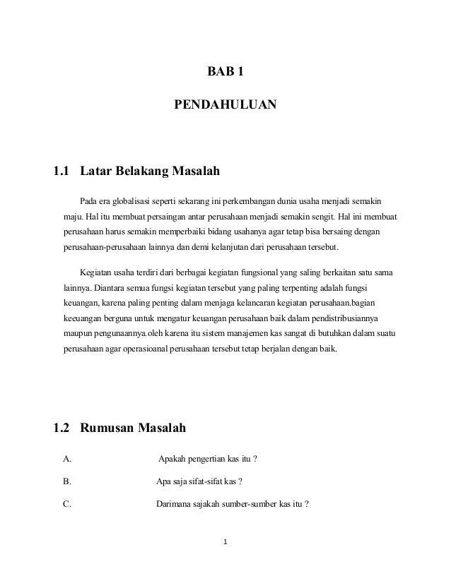 Contoh Makalah Manajemen Operasional Pdf Awan Danny Media
