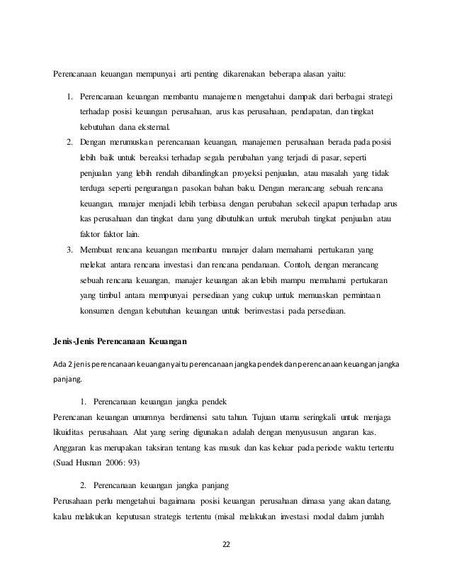 Makalah Manajemen Keuangan Part 1