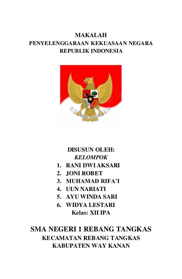 Makalah Menegakkan Hak Asasi Manusia Di Indonesia