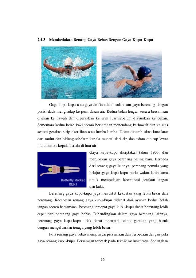Download Contoh Kliping Olahraga Renang