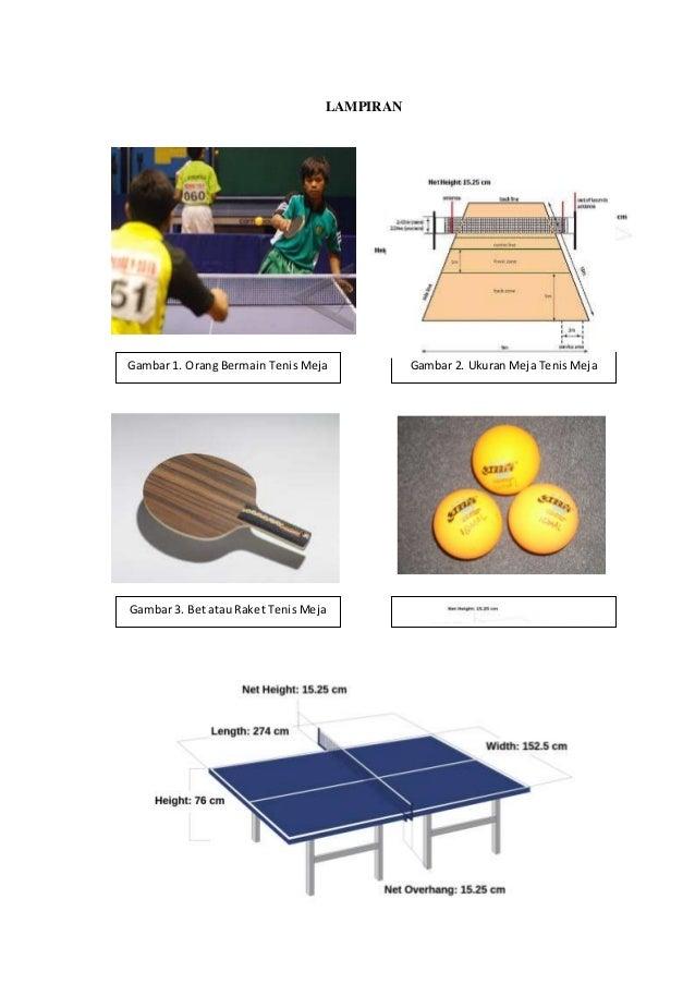 Ukuran Lapangan Tenis Meja Dan Bulutangkis Z Soalan