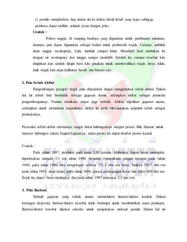 Contoh Eksposisi Akibat Sebab Info Biz Today