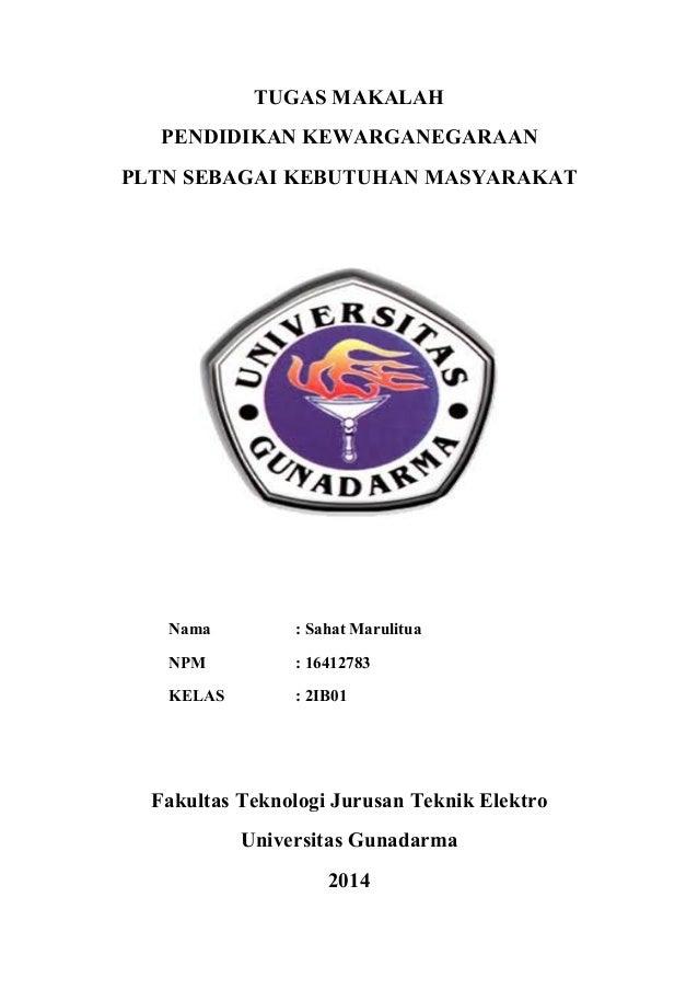MAKALAH PLTN PDF