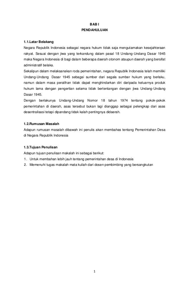1 BAB I PENDAHULUAN 1.1.Latar Belakang Negara Republik Indonesia sebagai negara hukum tidak saja mengutamakan kesejahteraa...