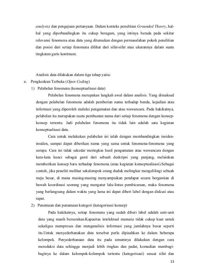 Judul Penelitian Kualitatif Grounded Theory Natal 7