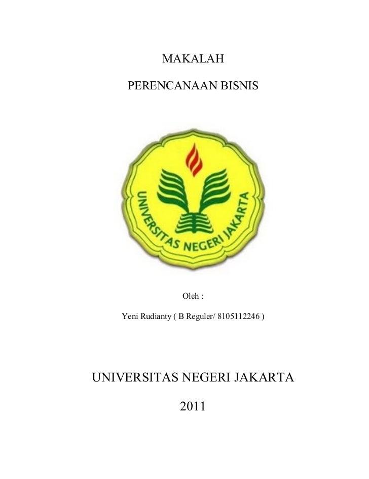 Contoh Cover Proposal Bisnis - Aneka Macam Contoh
