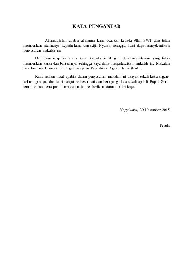 Makalah Perkembangan Islam Di Indonesia