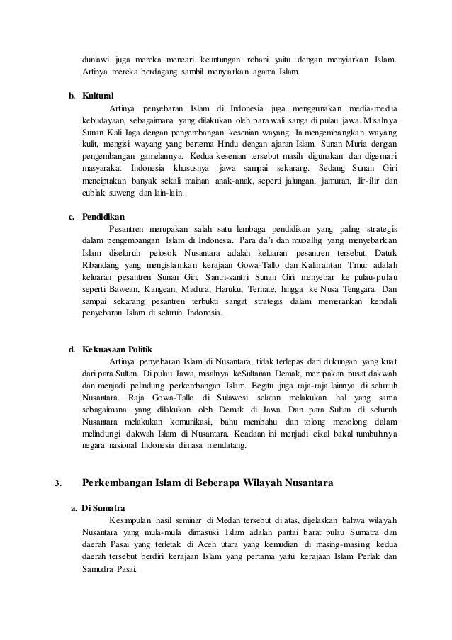 Best Contoh Makalah Sejarah Agama Islam Di Indonesia Image Collection