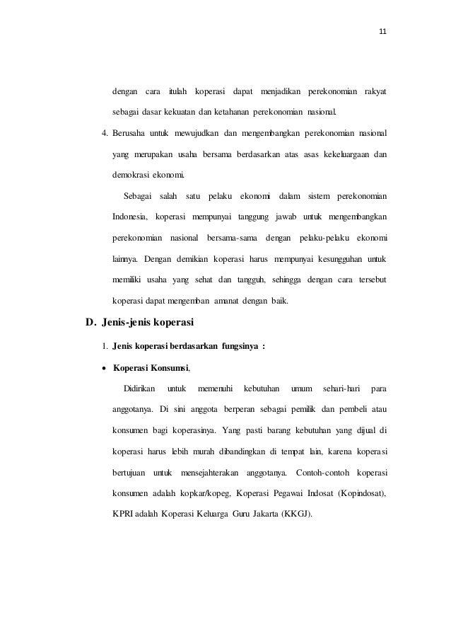 Makalah Perkoperasian Di Indonesia