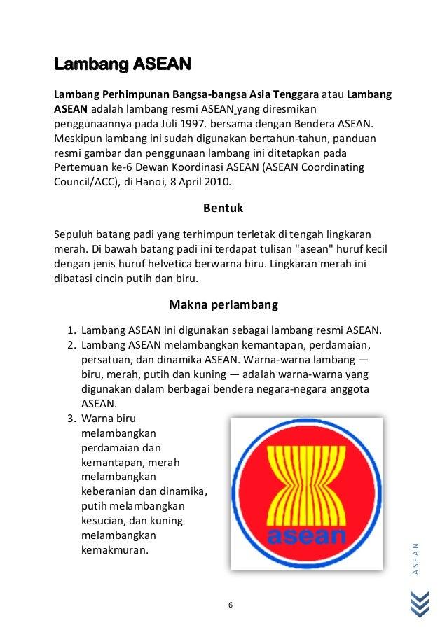 Makalah Pkn Asean Lambang Gambar Logo