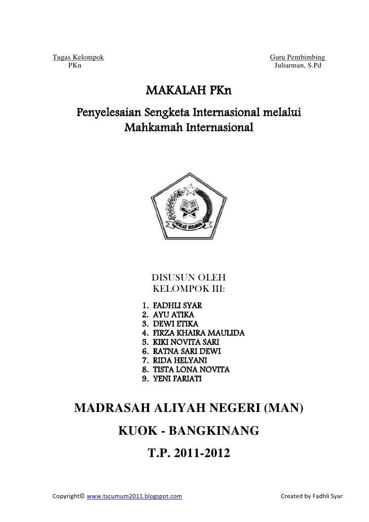 Tugas Kelompok                                        Guru Pembimbing    PKn                                              ...