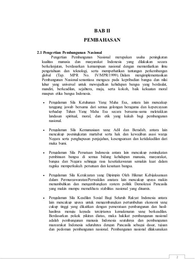 Makalah Bab 2 Pkn Kelas 12 Contoh Makalah