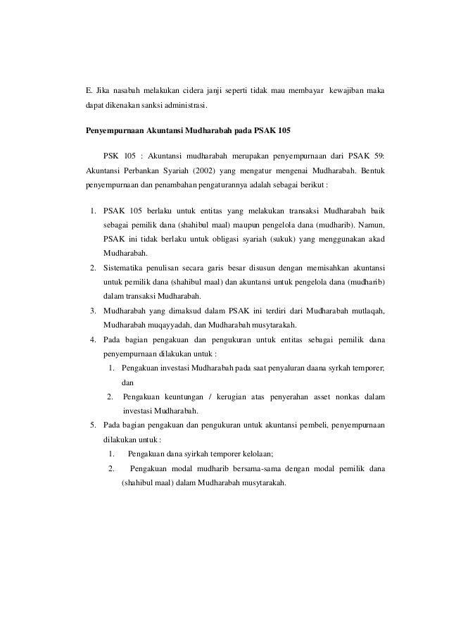 Download psak 105 ebook akuntansi mudharabah