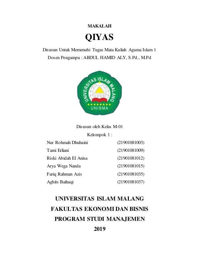 Makalah Qiyas