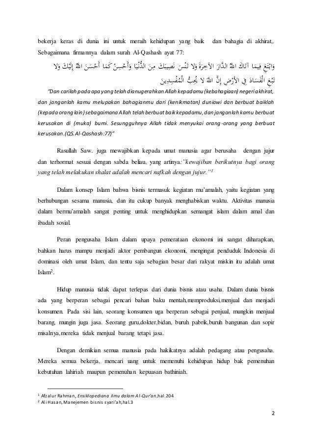 Regulasi Undang Undang Bisnis Syari Ah