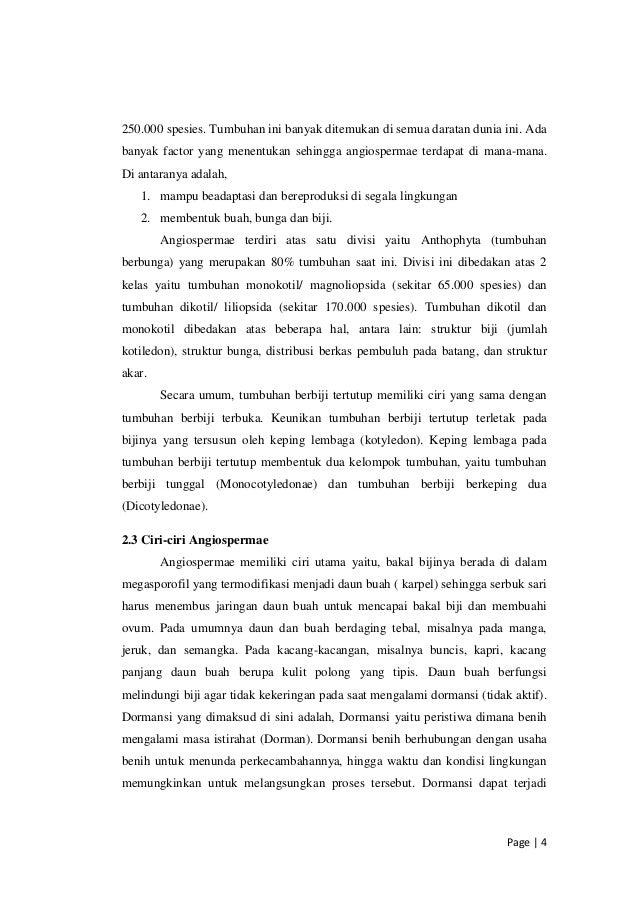 Makalah reproduksi tumbuhan Angiospermae pdf