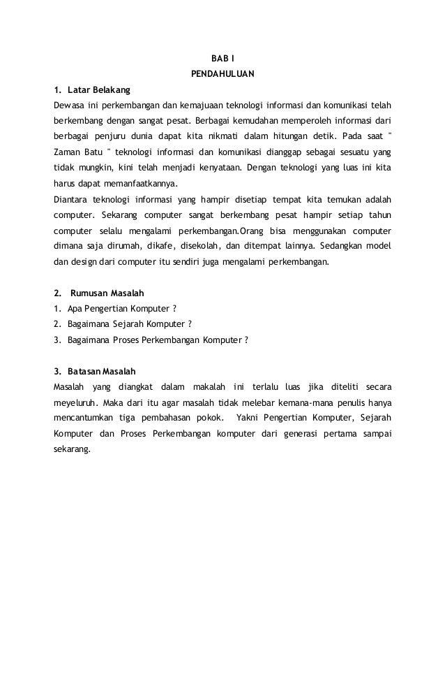 Doc Contoh Makalah Sejarah Bahasa Indonesia Muh Guntur Academia Edu