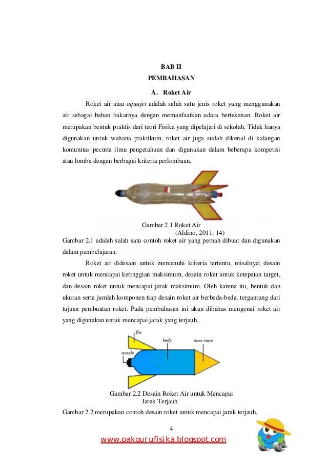 Makalah Seminar fisika Roket Air