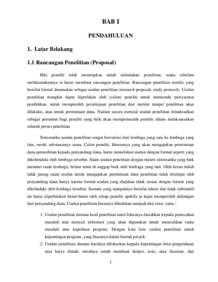 Contoh Proposal Tesis Pendidikan Matematika Tahun 2017