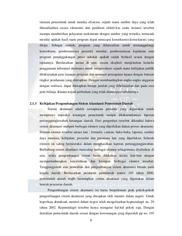 Contoh Laporan Arus Kas Pemerintah Daerah Laporan 7