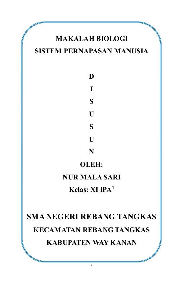 Makalah Sistem Pernapasan 4