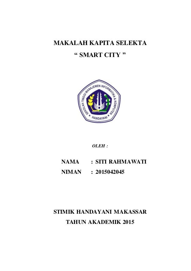 Makalah Smart City