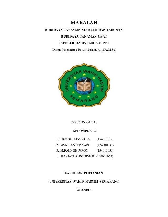 Makalah Budidaya Tanaman Jagung Pdf