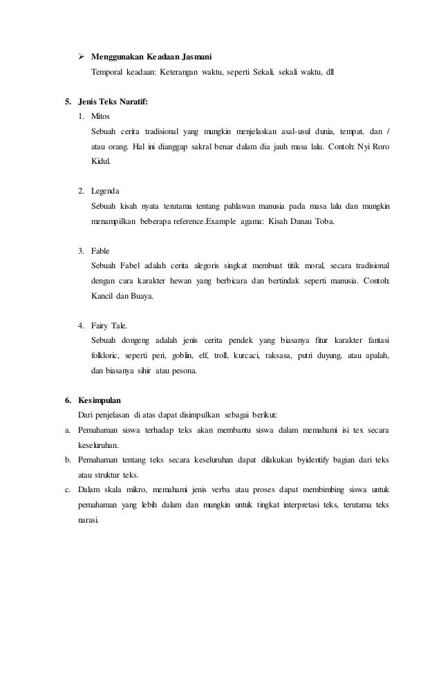 Makalah Teks Narrative