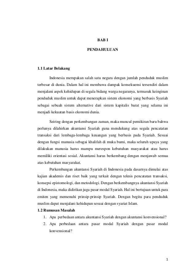 Perbedaan Akuntansi Syariah Dan Akuntansi Konvensional