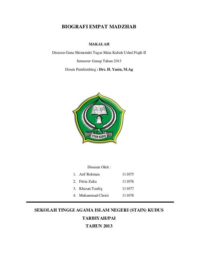 93+ Contoh Cover Makalah Yang Benar Pusat Makalah ...