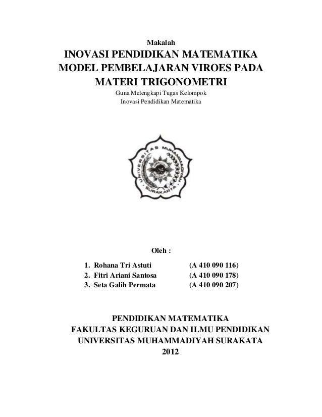 Model Pembelajaran Viroes