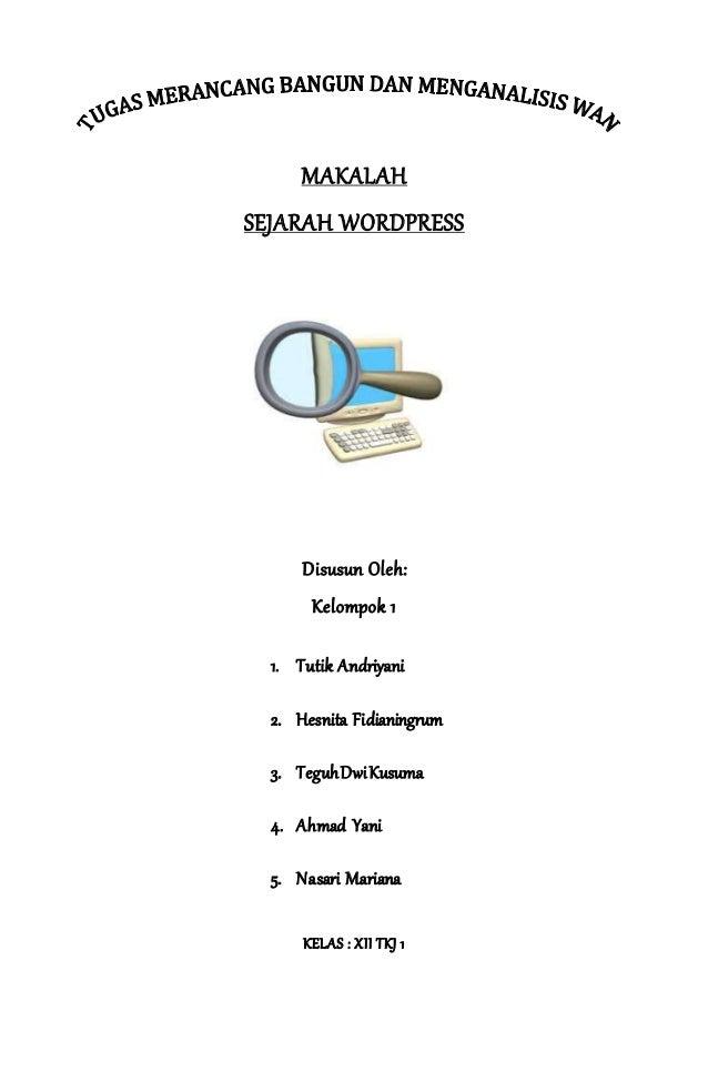 Makalah Wordpress