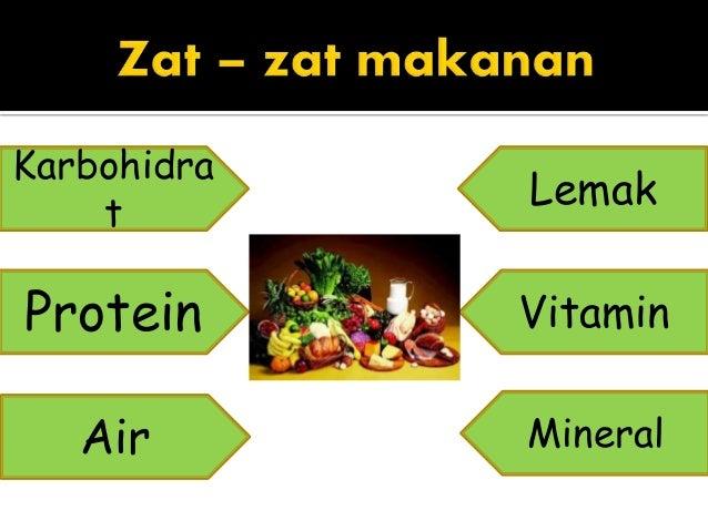 Karbohidrat, Vitamin, Protein, Lemak, Mineral dan Air Serta Fungsinya