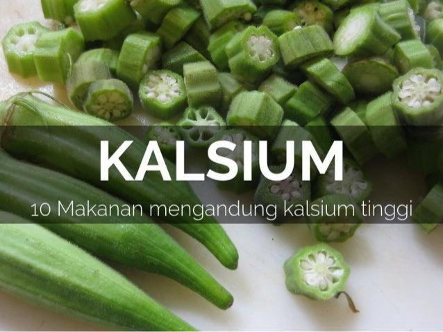8 Makanan Mengandung Kalsium Tinggi
