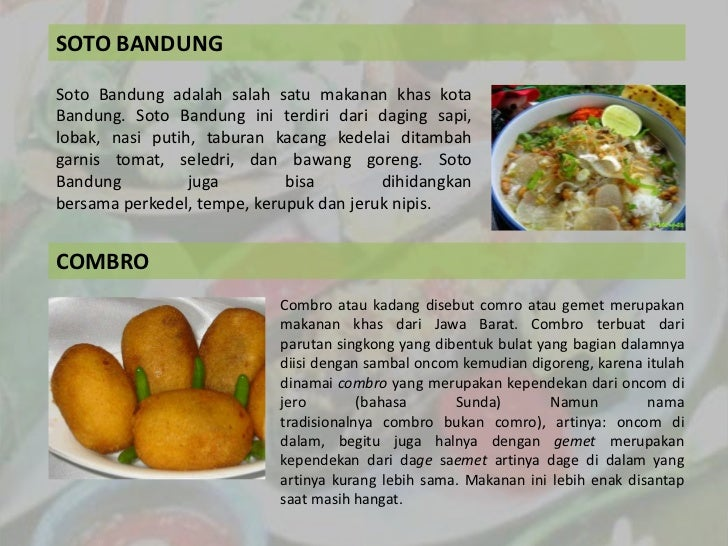 Makanan Tradisional Presentasion